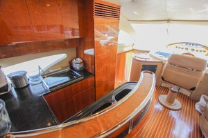 62' Azimut 62 Flybridge 2007 Galley
