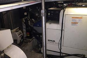 photo of Carver-466-Motor-Yacht-2001-Rollin-in-the-Tides-Pensacola-Florida-United-States-Engine-Room-Kohler-Generator-377527