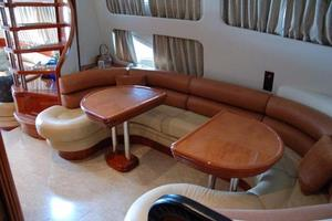 70' Azimut Sea Jet 2000 Custom Dining Area