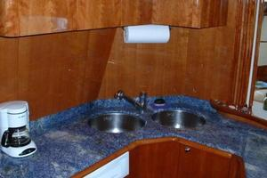 70' Azimut Sea Jet 2000 Galley Sinks and Granite Countertops