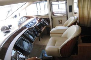 65' Viking 65 Sports Cruiser 2002 Helm Station