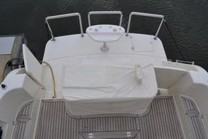 57' McKinna Raised Pilothouse 1999 Cockpit