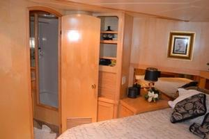 57' McKinna Raised Pilothouse 1999 Master Stateroom