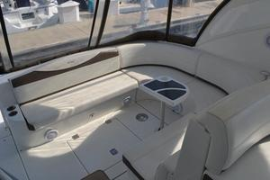 46' Cruisers Yachts 46 Express 2008 Cockpit Table and Storage