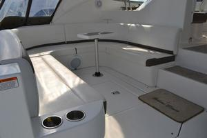46' Cruisers Yachts 46 Express 2008 Aft Cockpit Seating