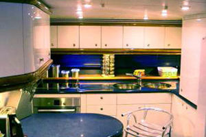 80' Sunseeker Manhattan 80 1999 Galley