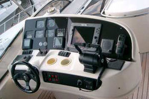 80' Sunseeker Manhattan 80 1999 Flybridge Helm