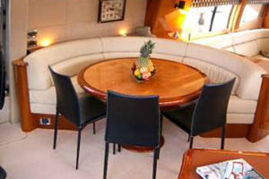 80' Sunseeker Manhattan 80 1999 Upper Salon Dining