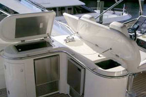 80' Sunseeker Manhattan 80 1999 Bridge Galley