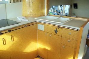 55' Neptunus 3 SR, TNT Lift 1997 Galley Looking Aft