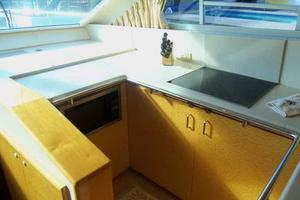 55' Neptunus 3 SR, TNT Lift 1997 Galley Looking Forward