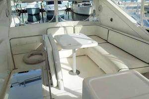 55' Neptunus 3 SR, TNT Lift 1997 Flybridge Looking Aft