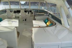 81' Cheoy Lee Bravo 81 2002 Flybridge Looking Forward