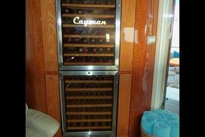 81' Cheoy Lee Bravo 81 2002 Salon Wine Cooler