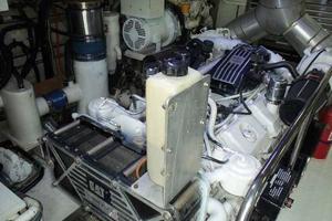 81' Cheoy Lee Bravo 81 2002 Starboard Engine