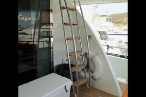 81' Cheoy Lee Bravo 81 2002 Aft Deck Flybridge Access