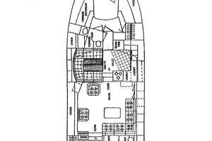 46' Dyna Double Cabin M/Y 1988 JACMAR - GENERAL ARRANGEMENT