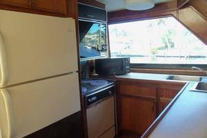 60' Hatteras Convertible/Enclosed FB 1979 Galley Aft to Port