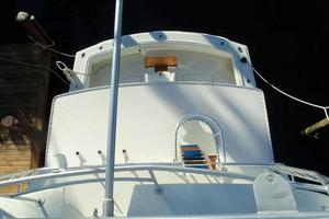 60' Hatteras Convertible/Enclosed FB 1979 Tower View Aft