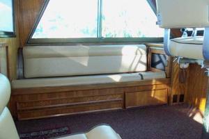 60' Hatteras Convertible/Enclosed FB 1979 Port Flybridge Seating