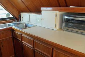 60' Hatteras Convertible/Enclosed FB 1979 Galley Forward to Port