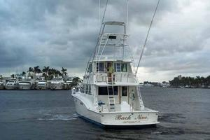 60' Hatteras Convertible/Enclosed FB 1979 Stern