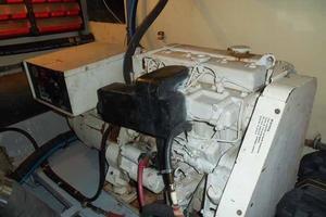 60' Hatteras Convertible/Enclosed FB 1979 20 KW Generator