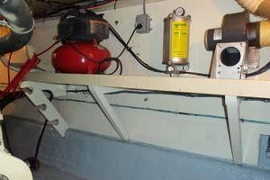 60' Hatteras Convertible/Enclosed FB 1979 Outboard Port Engine