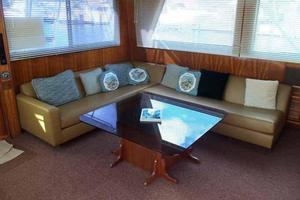 60' Hatteras Convertible/Enclosed FB 1979 Salon Aft to Port