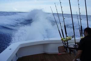 76' Viking 76 Enclosed 2010 Running Offshore