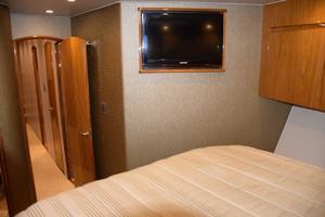 76' Viking 76 Enclosed 2010 VIP Stateroom TV and Companionway