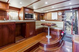 97' Vicem Motor Yacht 2007 Galley