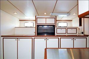 76' Offshore Motoryacht 2010 Utility Room