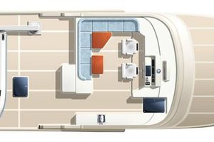 76' Offshore Yachts Motoryacht 2010 Plan View