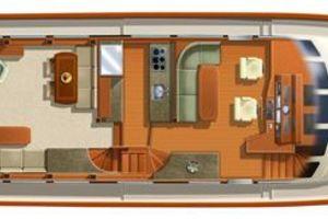76' Offshore Motoryacht 2010 Plan View