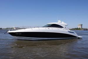 54' Sea Ray 540 Sundancer 2011 port profile