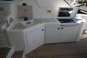 54' Sea Ray 540 Sundancer 2011 cockpit galley
