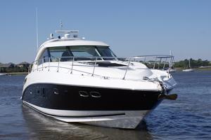 54' Sea Ray 540 Sundancer 2011 starboard bow