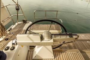 50' Beneteau Sense 50 2012 Steering