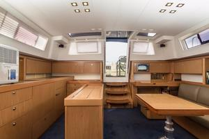 50' Beneteau Sense 50 2012 Salon and Galley