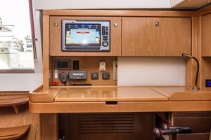 50' Beneteau Sense 50 2012 Nav Station and Electrical Panel