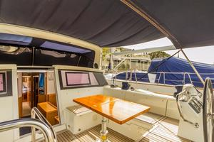 50' Beneteau Sense 50 2012 Folding Electrical Cockpit Table