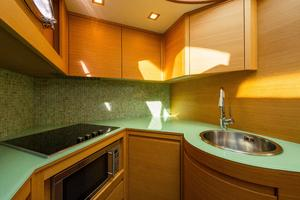 64' Pershing 64 2009 Galley