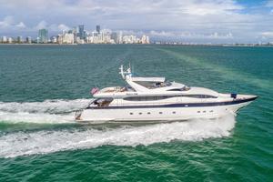 108' Viking Sport Cruisers  2002 Starboard Profile