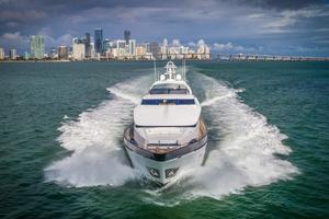108' Viking Sport Cruisers  2002 Bow Profile