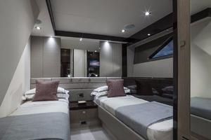 66' Sunseeker Manhattan 66 2018 Manufacturer Provided Image: Sunseeker Manhattan 66 Twin Cabin