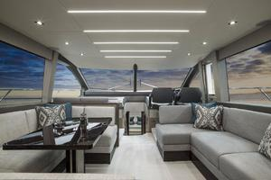 66' Sunseeker Manhattan 66 2018 Manufacturer Provided Image: Sunseeker Manhattan 66 Saloon
