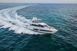 66' Sunseeker Manhattan 66 2018 Manufacturer Provided Image: Sunseeker Manhattan 66