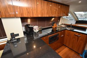 63' Sunseeker Manhattan 63 2013 Galley