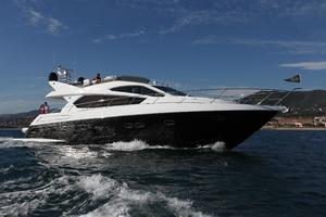 63' Sunseeker Manhattan 63 2013 Manufacturer Provided Image: Sunseeker Manhattan 63 Running Shot